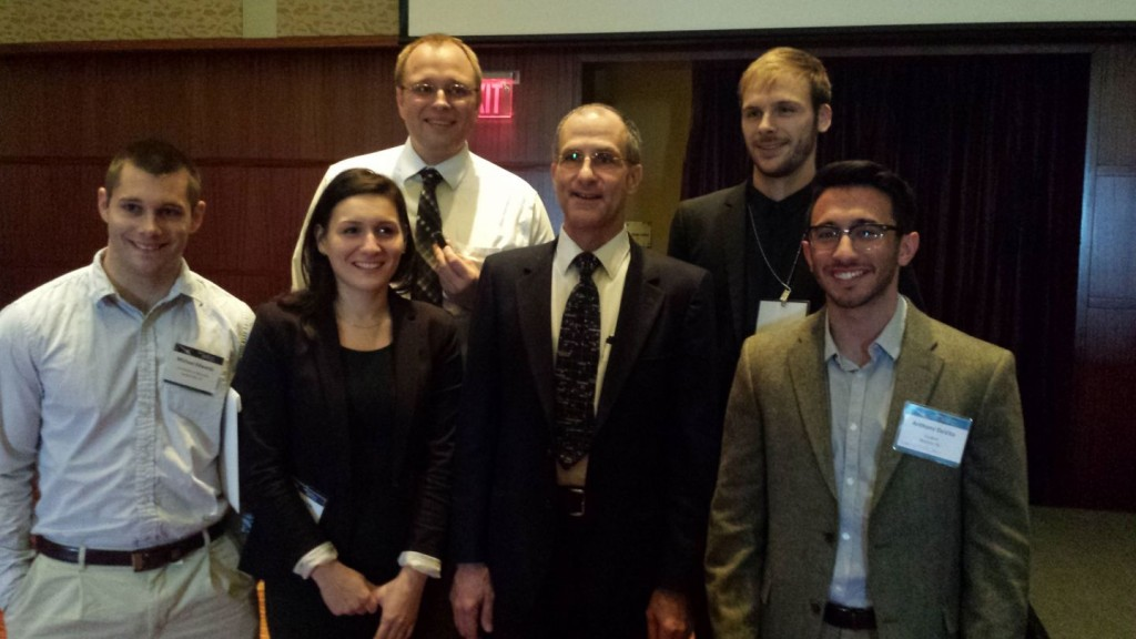 CE Students Attend 2014 ASCE Earth and Space Conference